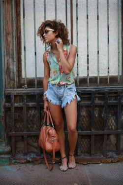 lookbookdotnu:  Resort to shorts (by Christina Caradona)  Love her.