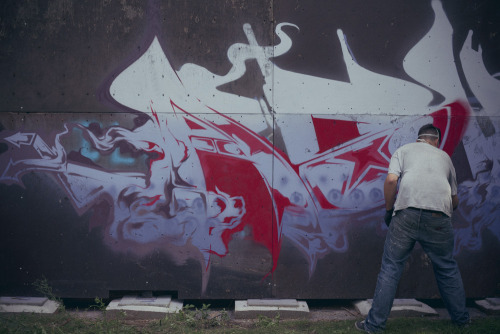 Painting in Berlin - Photo by Oche