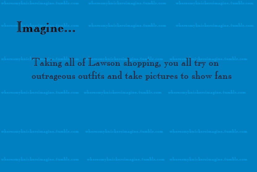 Shopping with Lawson