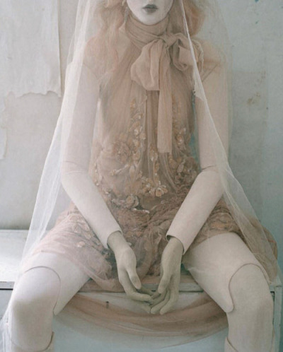 Audrey Marnay for Vogue Italia Oct 2011, shot by Tim Walker