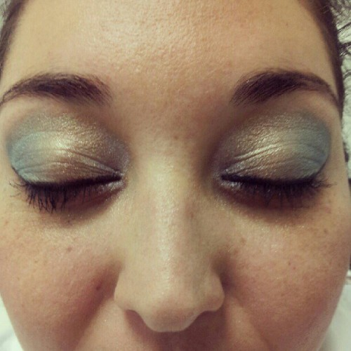 Did Tammy's #makeup in lab! She looks…ravishing! ;D (Taken with Instagram at Steiner Institute Of Esthetics (Tempe Campus))