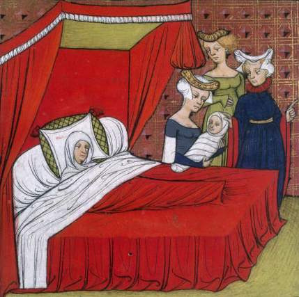 Birth of Louis VIII of France by medievalarchive on Flickr.