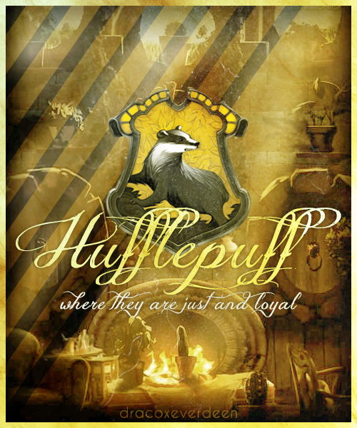 dracoxeverdeen:  House graphics » Hufflepuff  Figured I'd show some Hufflepuff pride!! :) (even though the sorting hat put me in Ravenclaw!!!) :)