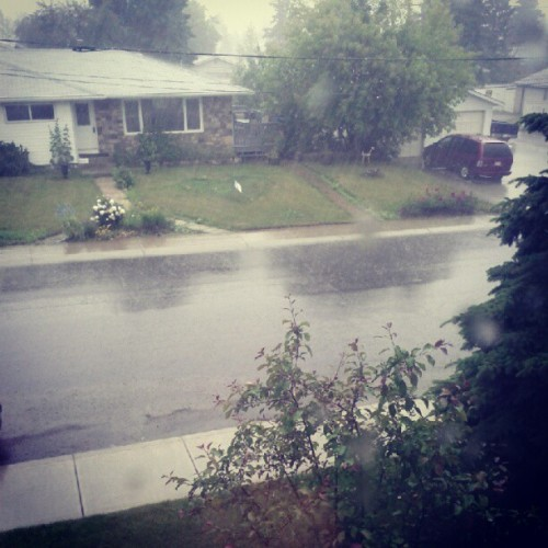 I love rainstorms… (Taken with Instagram)
