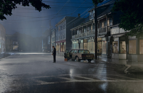 Rachel (Rae) Meltzer selected Gregory Crewdson as her inspirational artist. raemeltzerphotography:  To me, every picture tells a story. However, Gregory Crewdson refuses to share it with you, sometimes even putting untitled as the caption. Every shot is perfectly staged and shot and can cause me to come up with a whole play in my head. Most of his shots are wide, but some are also cropped close into the person's face to show the emotion written all over it. I think all his work is amazingly original and haunting.