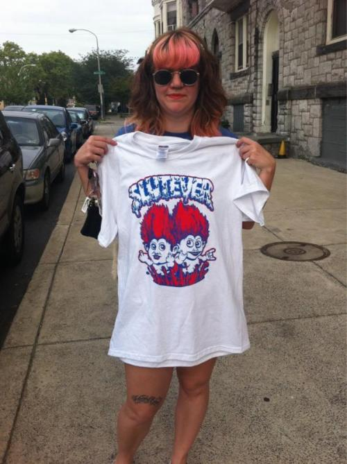 YEAH! CHECK OUT THE AWESOME T-SHIRT I DID FOR SLUTEVER!!! FEATURED IN PORK #8!!! (FALL ISSUE)