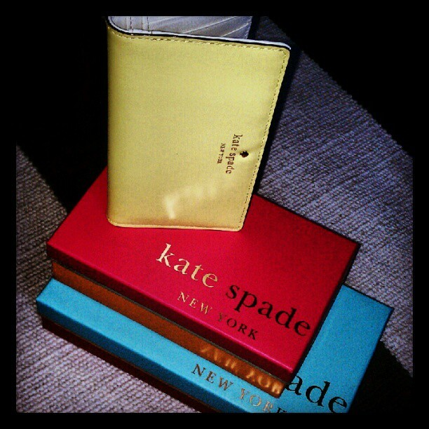 New wallet from Kate Spade <3 (Taken with Instagram)
