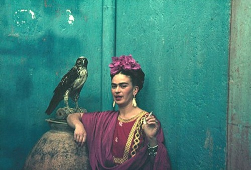 theyroaredvintage:  Frida Kahlo by Nickolas Muray, 1940.