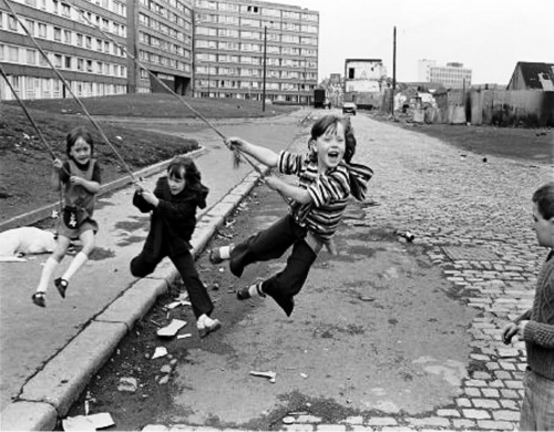 West Belfast. Outside Divis Flats, 1978 photo by Christopher Steele-Perkins