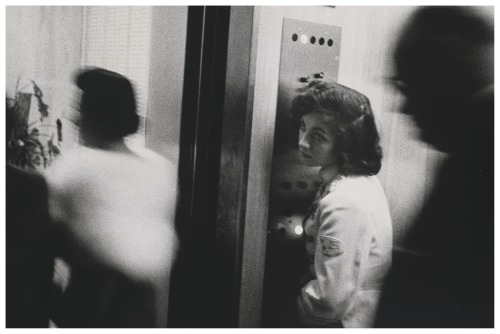 firsttimeuser:  Elevator, Miami Beach, 1955 by Robert Frank
