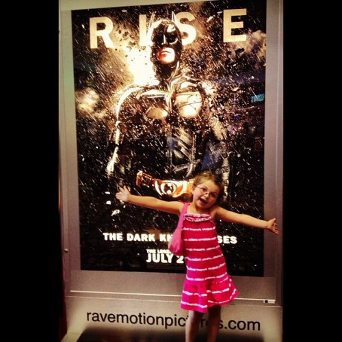 Corena presents… The #DarkKnightRises … More fun in the theater lobby. #DarkKnight #Batman   (Taken with Instagram)