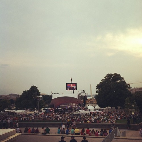 Fake Fourth of July in D.C. (Taken with Instagram)