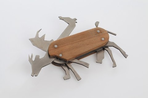 designcube:  Animal Pocket Knife