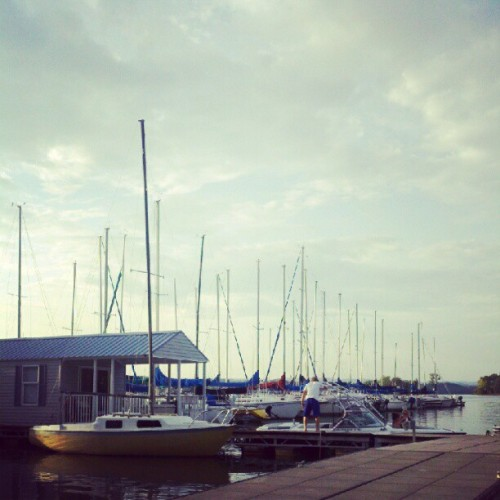 Boats. #beanstation #dinnertime  (Taken with Instagram)