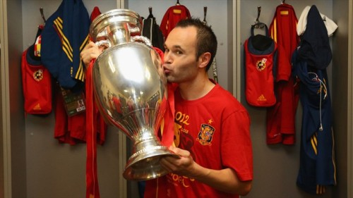 Iniesta named Best Player of the Tournament.