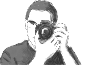Speed Art - Self This speed run will be the basis for an actual portrait I hope to pull off.