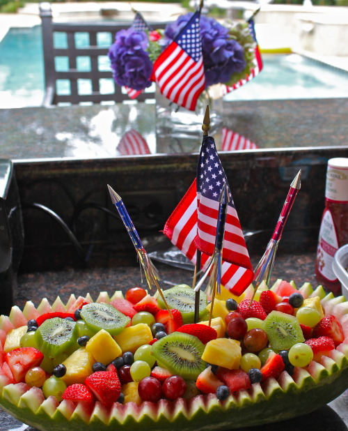 Fruit and Fireworks!