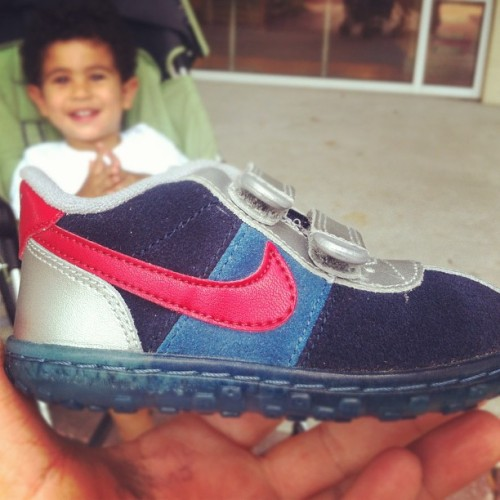 New kicks for the dude.  (Taken with Instagram)