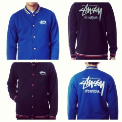 kid-xylo:  Stussy jackets which one looks better? I want one 😬💙 #stussy #jackets #blue #black #want (Taken with Instagram)