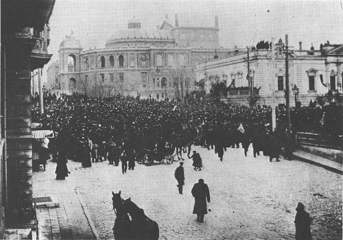 hayir:  Odessa ca.1918 or 1919 during the Russian Civil War and the French military intervention in the Black Sea.