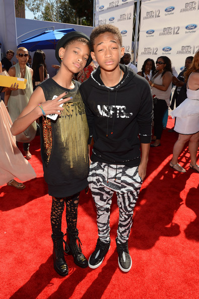 livinglifeintheoc:  Willow and Jaden Smith