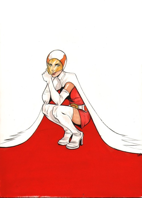 Princess from Battle of the Planets commission