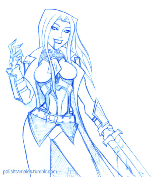 dexlessops Request! Rule 63 Sorin!