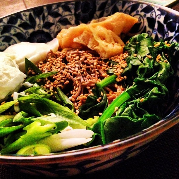 One of my favorite summertime meals to make: cold soba (Taken with Instagram)