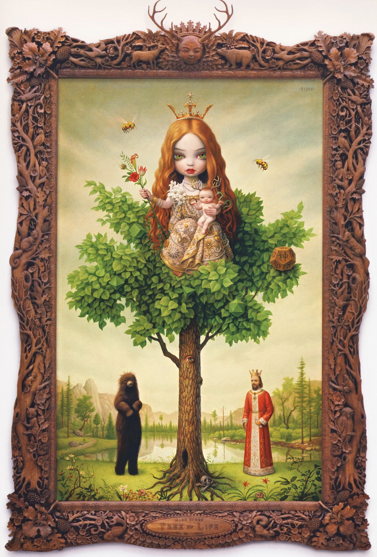bohemea:  Tree Of Life by Mark Ryden, 2006
