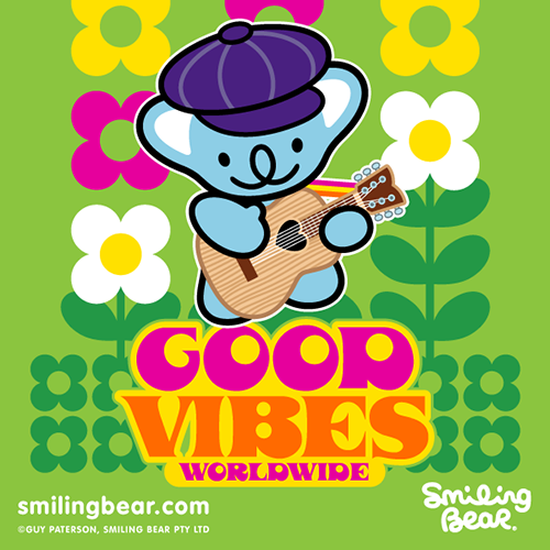 smilingbear:  Good Vibes Worldwide Are you feeling our good vibrations?! http://bit.ly/SB_GVW