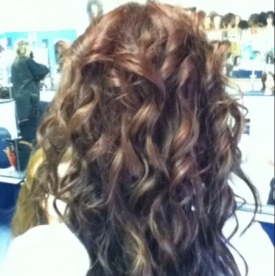 "Cute ""Mermaid Curls"" :)"