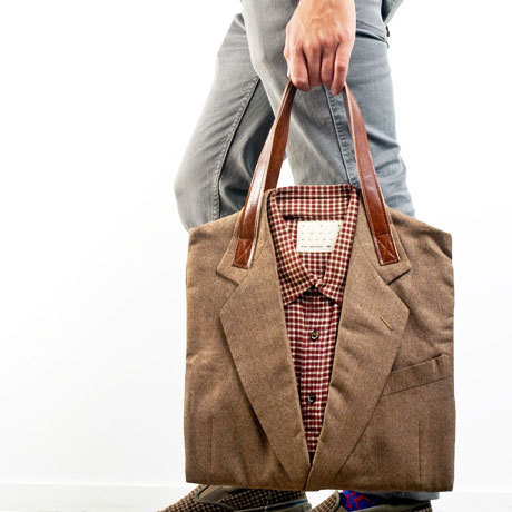 Cool Suit Tote Bag