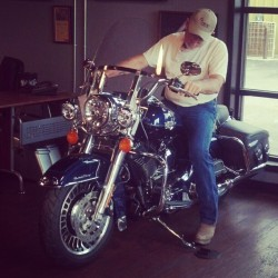 Daddies new Harley! :) (Taken with Instagram)