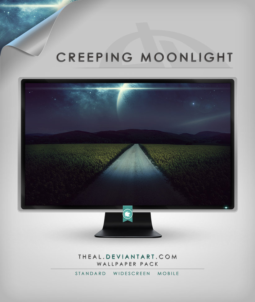 Creeping Moonlight Wallpaper pack by TheAl