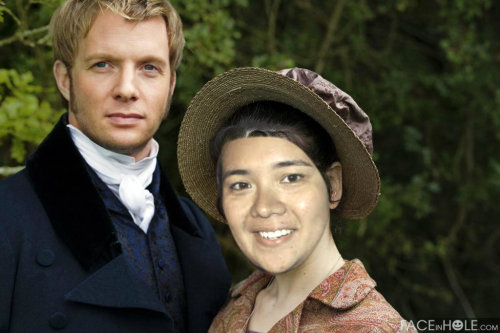 with Rupert Penry Jones