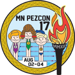 Catch the Olympic spirit at MN PEZCon.   August 2-4, Bloomington, MN www.mnpezcon.com