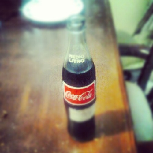 Thats a real Coca Cola (Taken with Instagram)