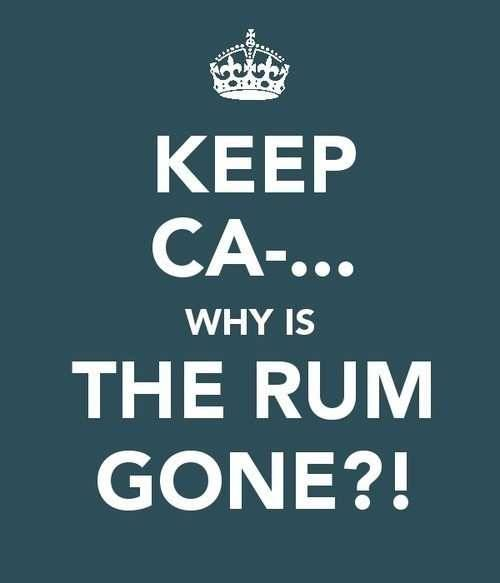 be-the-southern-lady:  Why is the rum gone?!