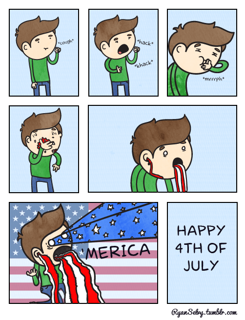 ryanselvy:  #155 Happy Extreme Independence Day