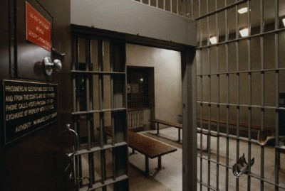 dahmerobsessed:  The jail cell Jeff stayed in between trial sessions.