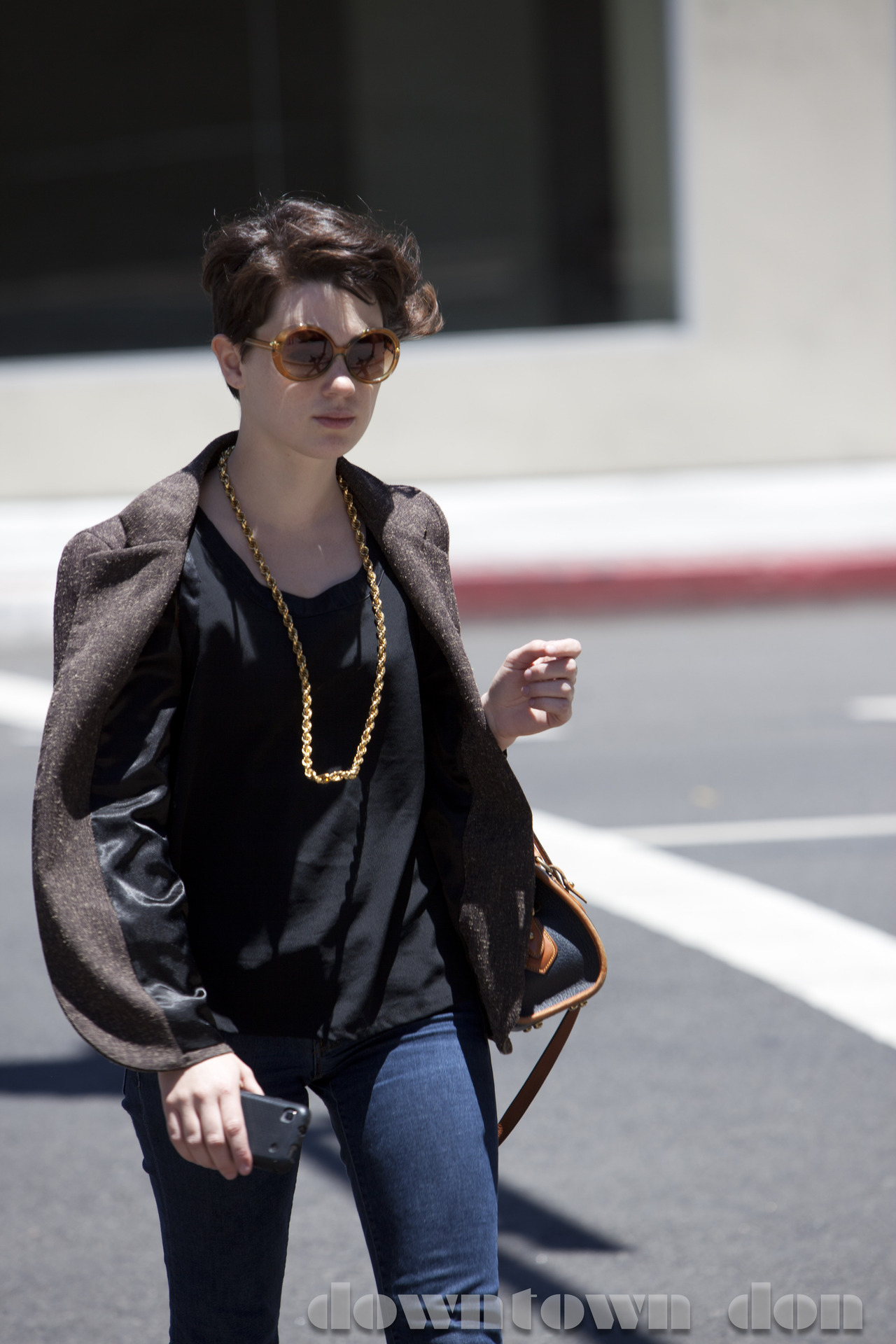 hair, skin, frames. Done. #fashion #dtla #streetstyle