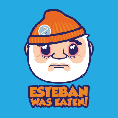 pacalin:  Esteban Was Eaten Art by j3concepts (via: ronworkman)  You rang?