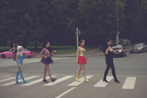 sailorhoneymoon:  Abbey Road by ~Satene-san Track listing: Win Together Something Usagi's Silver Crystal Oh! Darling Tellur's Garden I Want You (She's So Heavy) Here Comes The Moon Beacuse You Never Give Me Your Millenium Crystal Earth King Mean Mr. Tomoe Polythene Petz She Came In Through A Hole In the Sky Queen Slumbers Carry That Crystal The End Her Majesty These are terrible. Feel free to come up with better ones.