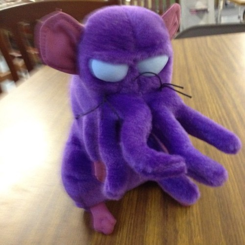 This is Cthulhu Rat. Love Cthulhu Rat (Taken with Instagram)