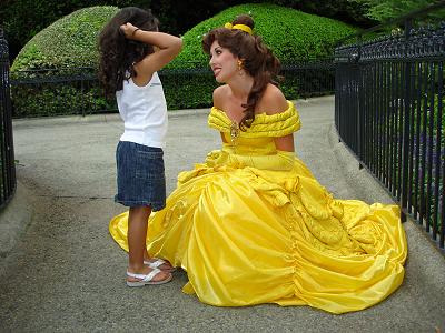 Day 11: favorite person character to meet.   Belle. I guess. I'm not that big a fan of person characters. It feels weird. I end up meeting belle a lot so I guess her.
