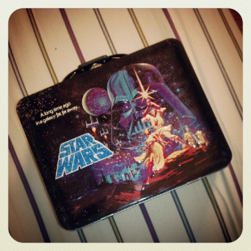 Picked up this #starwars #lunchbox today for $10!  (Taken with Instagram)