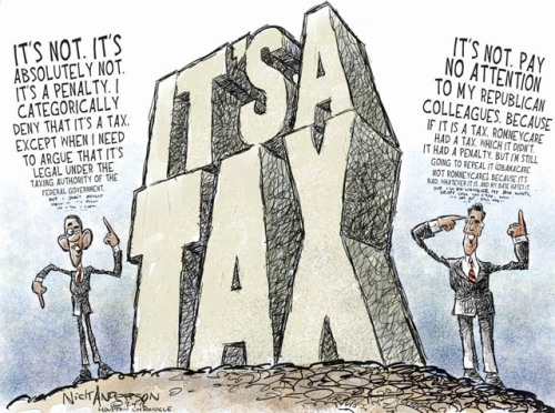 It's Not A Cartoon, It's A Tax, LOL.