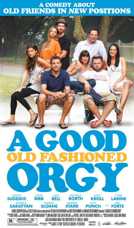 "The Movie: A Good Old Fashioned Orgy Directed by: Alex Gregory, Peter HuyckStarring: Jason Sudeikis, Leslie Bibb Kinda really disappointing. I remember seeing the trailer and being really stoked cause it looked really funny. It wasn't that funny, and the story really had no conflict. ""Hey lets have an orgy!"" ""I dunno…."" ""c'moooon it'll be awesome!"" ""OKAY!"""