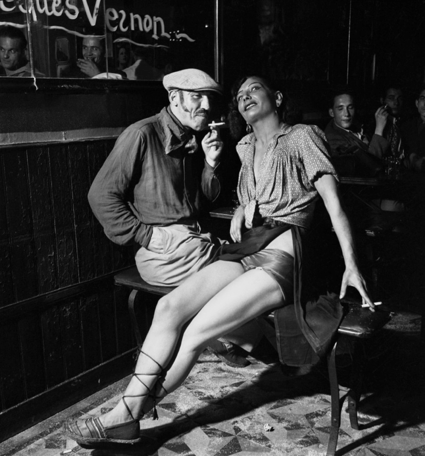 Emile Savitry Dans un bar de Pigalle, Paris, 1938