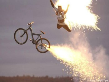 HAPPY WEDNESDAY. RIDE YOUR BIKE THIS 4th OF JULY.  No better way to celebrate Independence Day than by seeking independence out on the road or trail. I recommend a nice, long, evening ride with a big climb. High enough where you can take in the local fireworks shows for free. Cheap? No, just innovative. Our founding fathers would've wanted it that way.